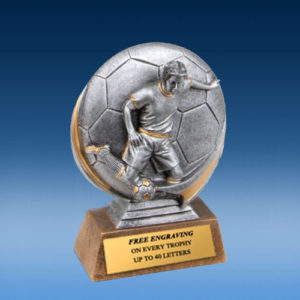 Soccer Male 3D Xtreme Resin
