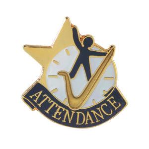 Attendance Banner Pin
