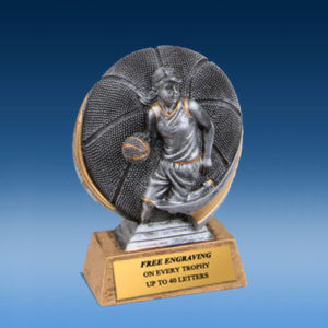 Basketball Female 3D Xtreme Resin