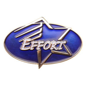 Effort Achievement Pin