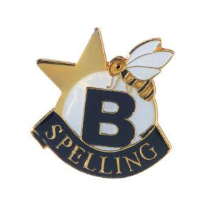 Spelling Banner Pin