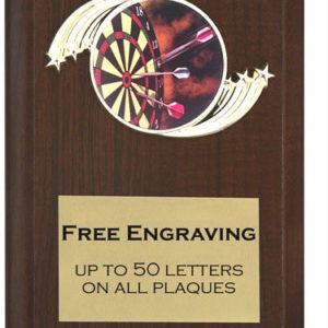 Darts Plaque