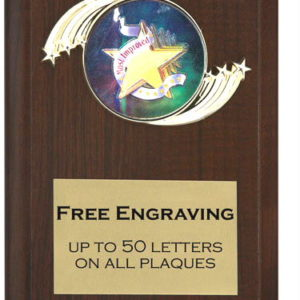 Most Improved Plaque