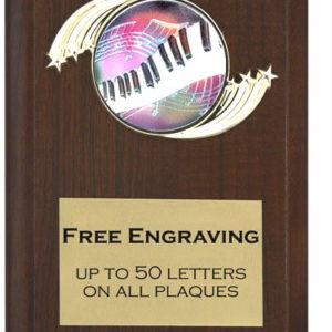 Music 2 Plaque