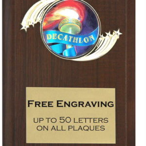 Decathlon Plaque