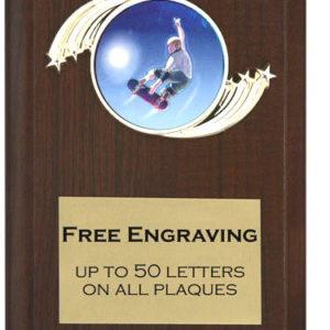 Skate Board Plaque