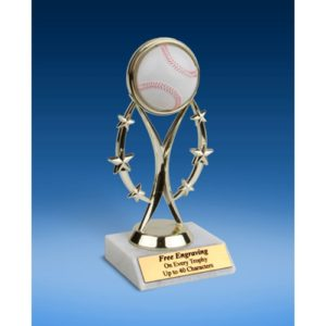 "Baseball 7"" Colored Sport Figure Trophy"