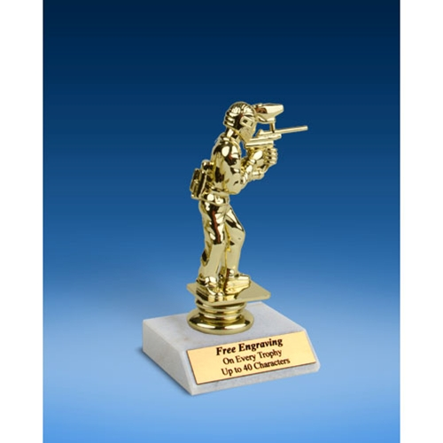 Paintball Sport Figure Trophy 6""