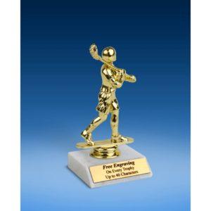 """Lacrosse Sport Figure Trophy 6"""""""