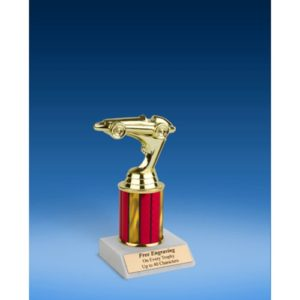 Racing Sport Figure Trophy 8""
