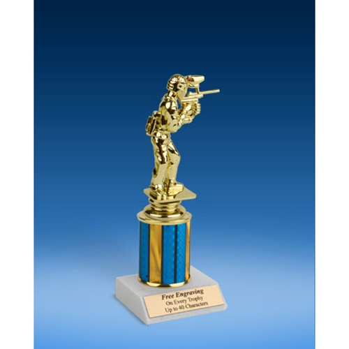 Paintball Sport Figure Trophy 8""