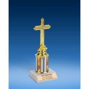 "Religion Sport Figure Trophy 8"""