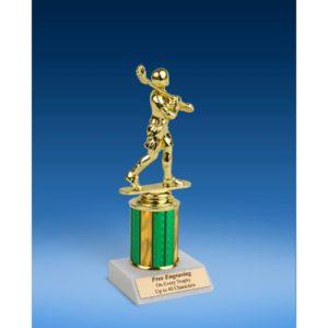 """Lacrosse Sport Figure Trophy 8"""""""