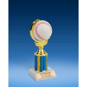 Baseball Soft Spinner Ball Trophy 8""