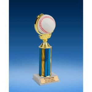 Baseball Soft Spinner Ball Trophy 10""