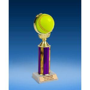 "Softball Soft Spinner Ball Trophy 10"""