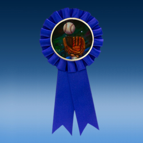 Baseball 2 Participation Ribbon
