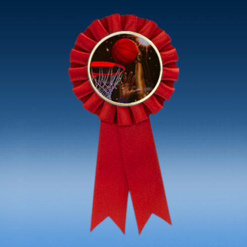 Basketball 2 Participation Ribbon