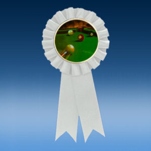 Billiards Participation Ribbon