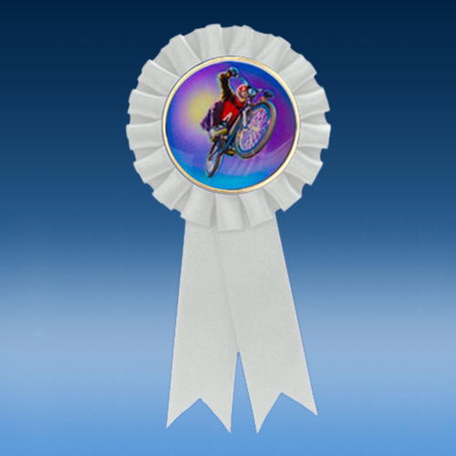 BMX Participation Ribbon