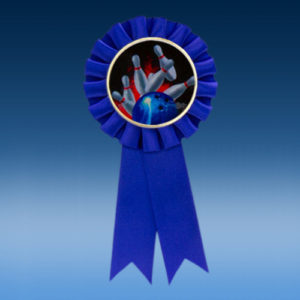Bowling Participation Ribbon