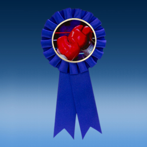 Boxing Participation Ribbon