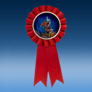 Bull Rider Participation Ribbon