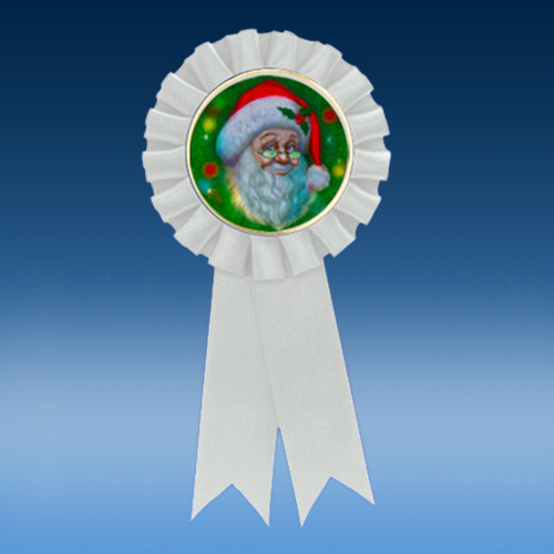 Christmas Participation Ribbon