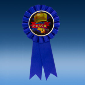 Coach Participation Ribbon