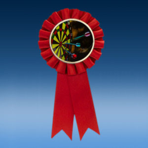 Darts Participation Ribbon