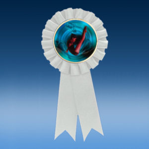 Diving Female Participation Ribbon