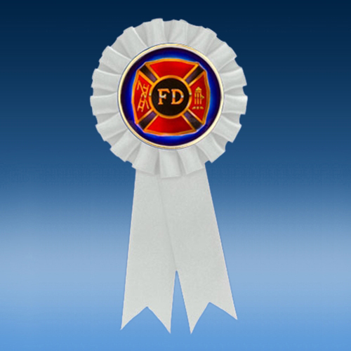 Fire Department Participation Ribbon