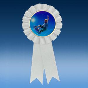 Skateboard Participation Ribbon