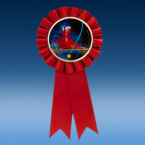 Ski Participation Ribbon