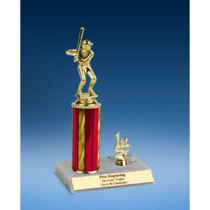 "Baseball Sport Figure Trim Trophy 10"""