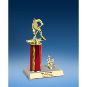Hockey Sport Figure Trim Trophy 10""