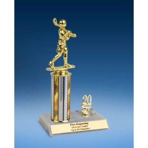 """Lacrosse Sport Figure Trim Trophy 10"""""""