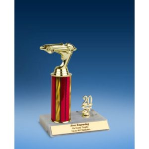 Racing Sport Figure Trim Trophy 10""