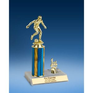 Soccer Sport Figure Trim Trophy 10""