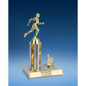 Track Sport Figure Trim Trophy 10""