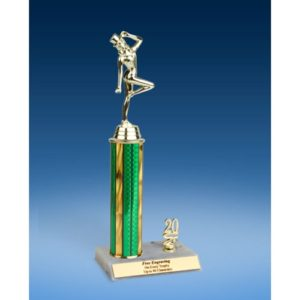 Dance Sport Figure Trim Trophy 12""