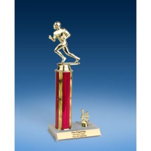 Football Sport Figure Trim Trophy 12""
