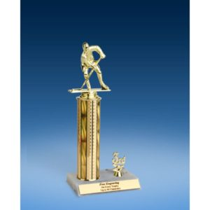 Hockey Sport Figure Trim Trophy 12""