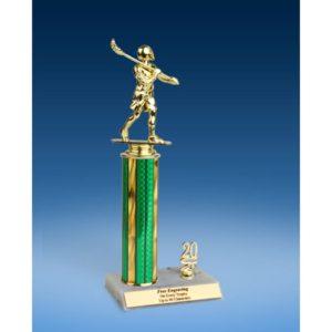 """Lacrosse Sport Figure Trim Trophy 12"""""""