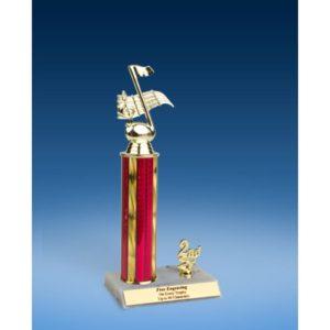"Music Sport Figure Trim Trophy 12"""