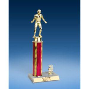 "Wrestling Sport Figure Trim Trophy 12"""
