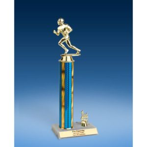 Football Sport Figure Trim Trophy 14""