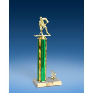 Hockey Sport Figure Trim Trophy 14""