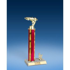 Racing Sport Figure Trim Trophy 14""