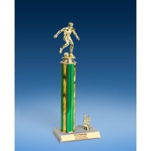 Soccer Sport Figure Trim Trophy 14""